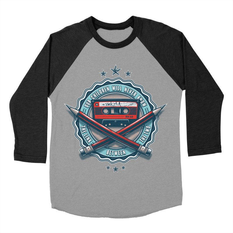 Our Children will Never Know the Link Between the Two Men's Baseball Triblend T-Shirt by zoelone's Artist Shop