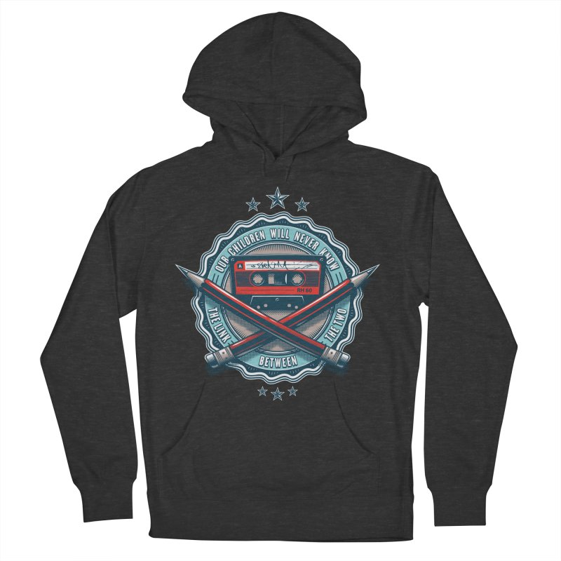 Our Children will Never Know the Link Between the Two Men's French Terry Pullover Hoody by zoelone's Artist Shop