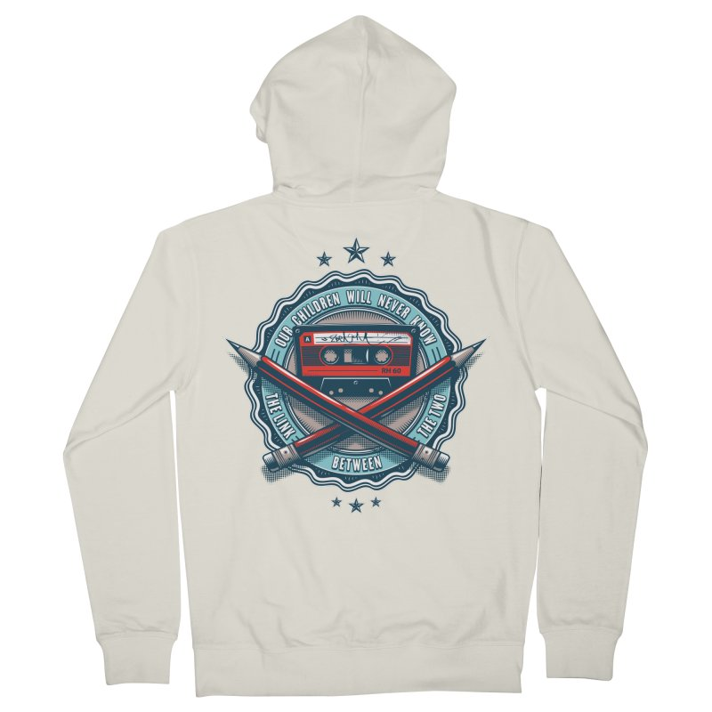 Our Children will Never Know the Link Between the Two Men's French Terry Zip-Up Hoody by zoelone's Artist Shop