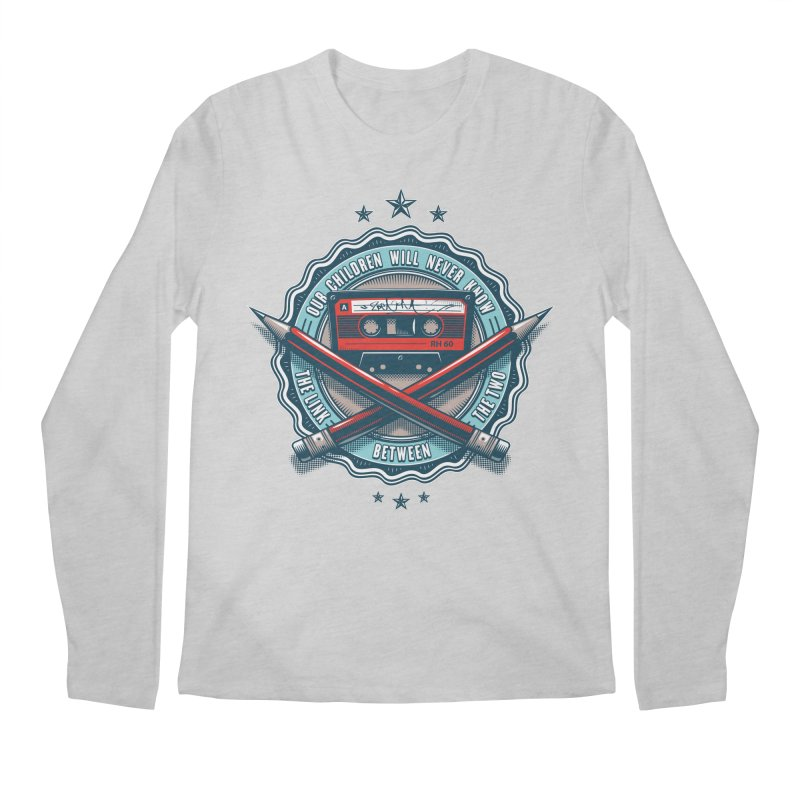 Our Children will Never Know the Link Between the Two Men's Regular Longsleeve T-Shirt by zoelone's Artist Shop