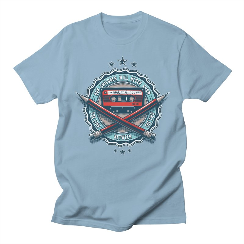 Our Children will Never Know the Link Between the Two Men's Regular T-Shirt by zoelone's Artist Shop