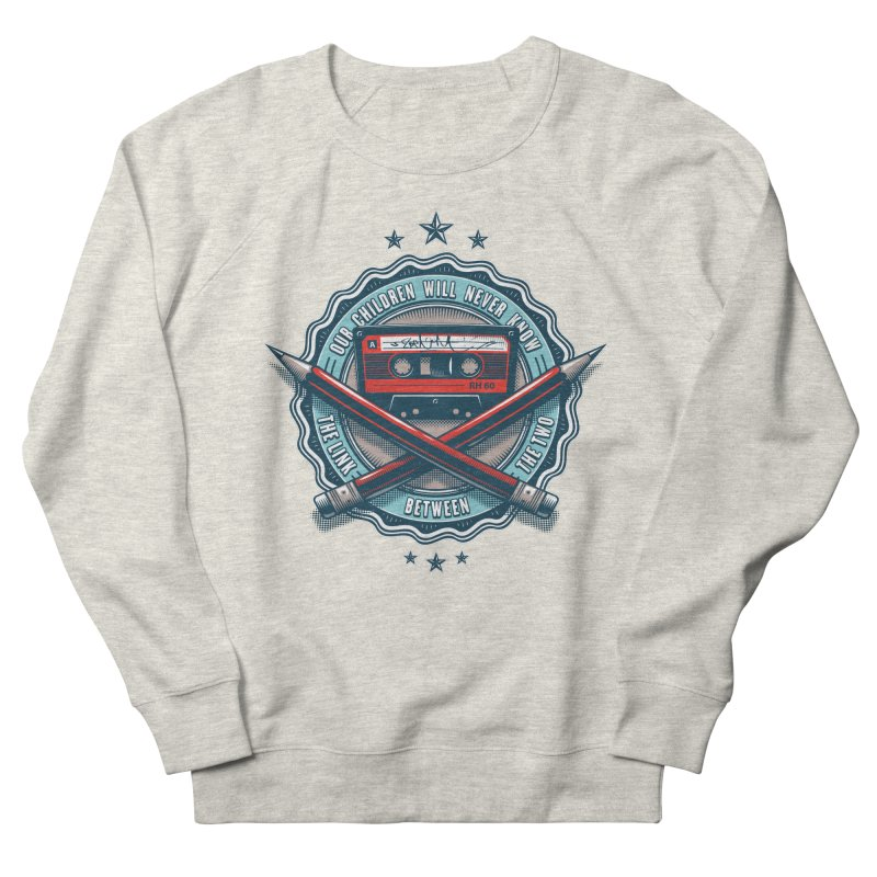 Our Children will Never Know the Link Between the Two Men's French Terry Sweatshirt by zoelone's Artist Shop