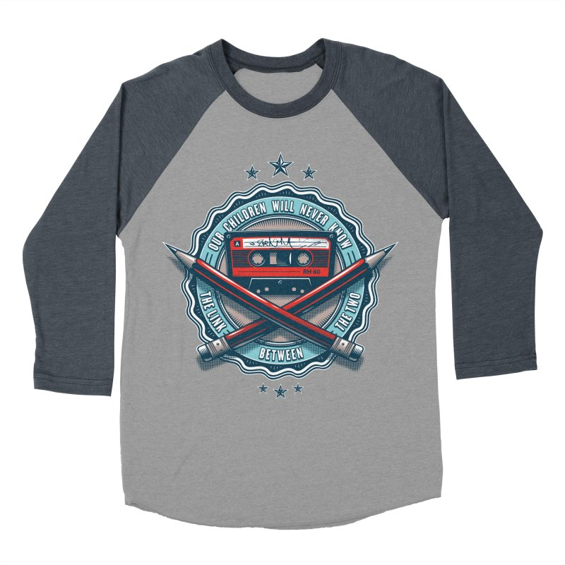 Our Children will Never Know the Link Between the Two Men's Baseball Triblend Longsleeve T-Shirt by zoelone's Artist Shop