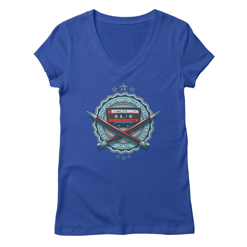 Our Children will Never Know the Link Between the Two Women's Regular V-Neck by zoelone's Artist Shop