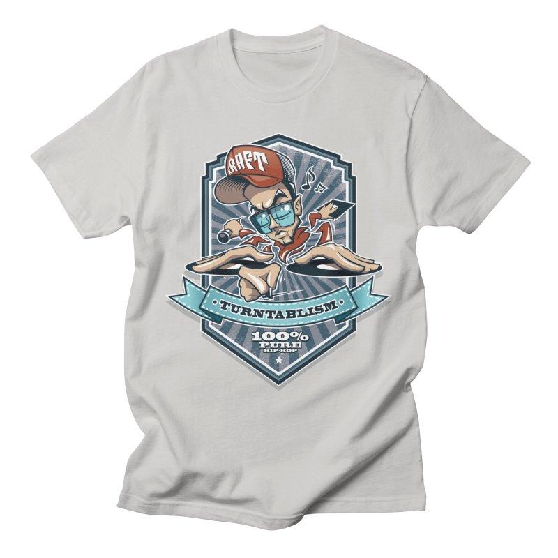 Turntablism Men's T-Shirt by zoelone's Artist Shop