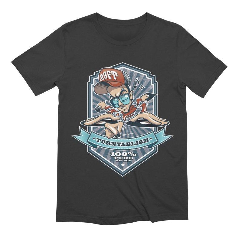 Turntablism Men's Extra Soft T-Shirt by zoelone's Artist Shop