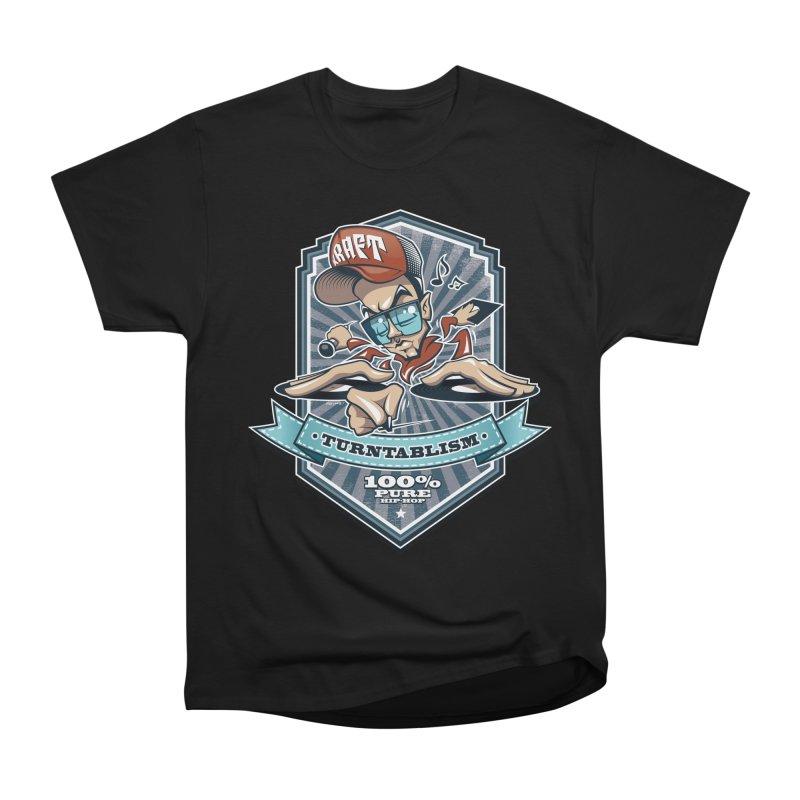 Turntablism Women's Heavyweight Unisex T-Shirt by zoelone's Artist Shop