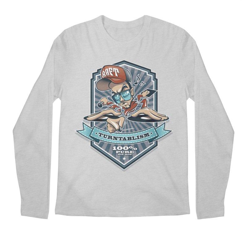 Turntablism Men's Regular Longsleeve T-Shirt by zoelone's Artist Shop