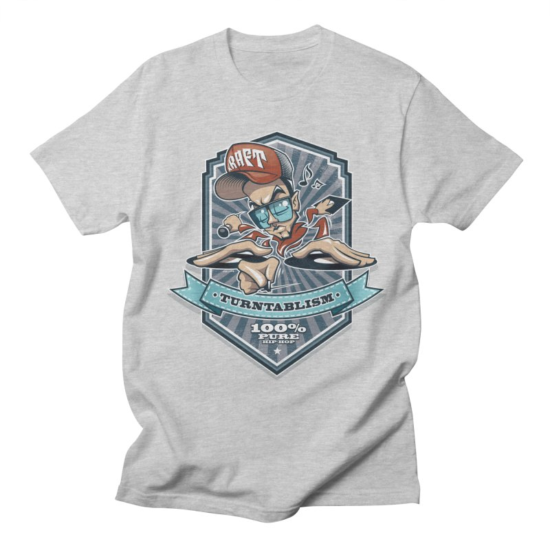 Turntablism Men's Regular T-Shirt by zoelone's Artist Shop