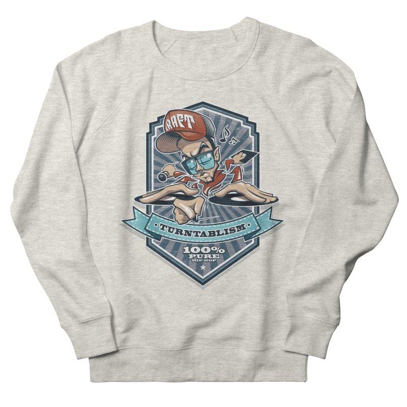 Turntablism Women's French Terry Sweatshirt by zoelone's Artist Shop