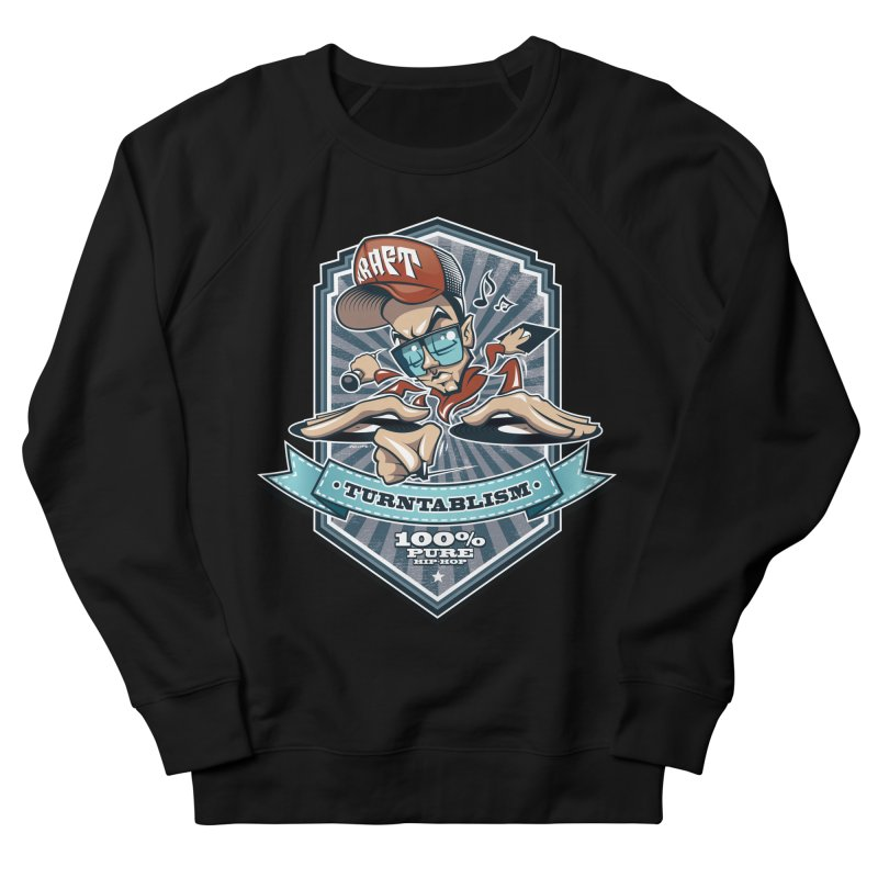 Turntablism Men's French Terry Sweatshirt by zoelone's Artist Shop