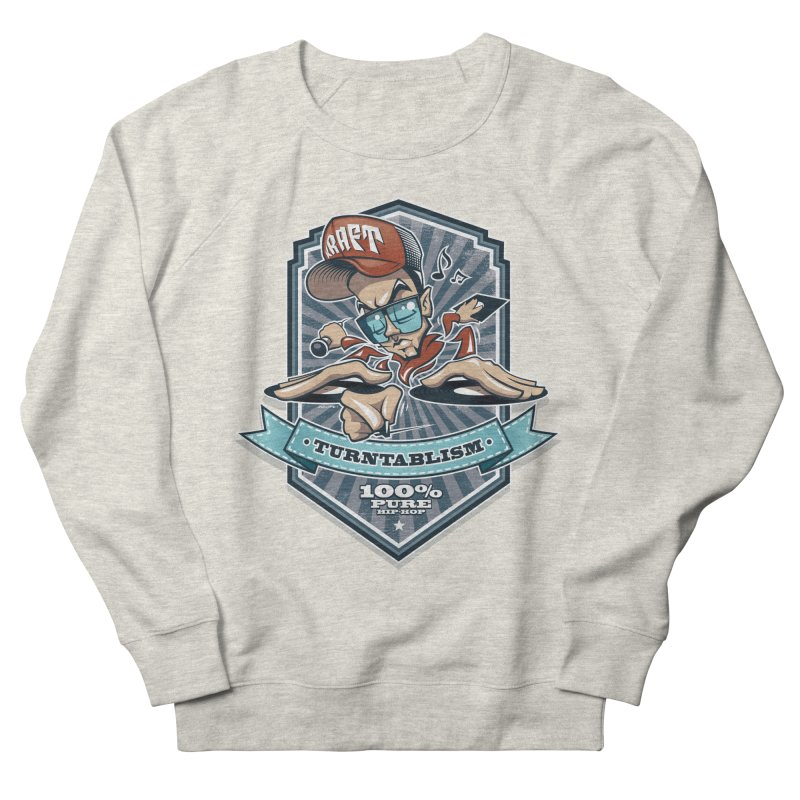 Turntablism Men's Sweatshirt by zoelone's Artist Shop
