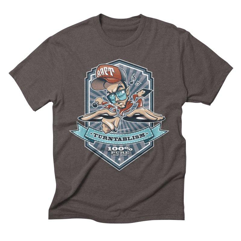 Turntablism Men's Triblend T-Shirt by zoelone's Artist Shop