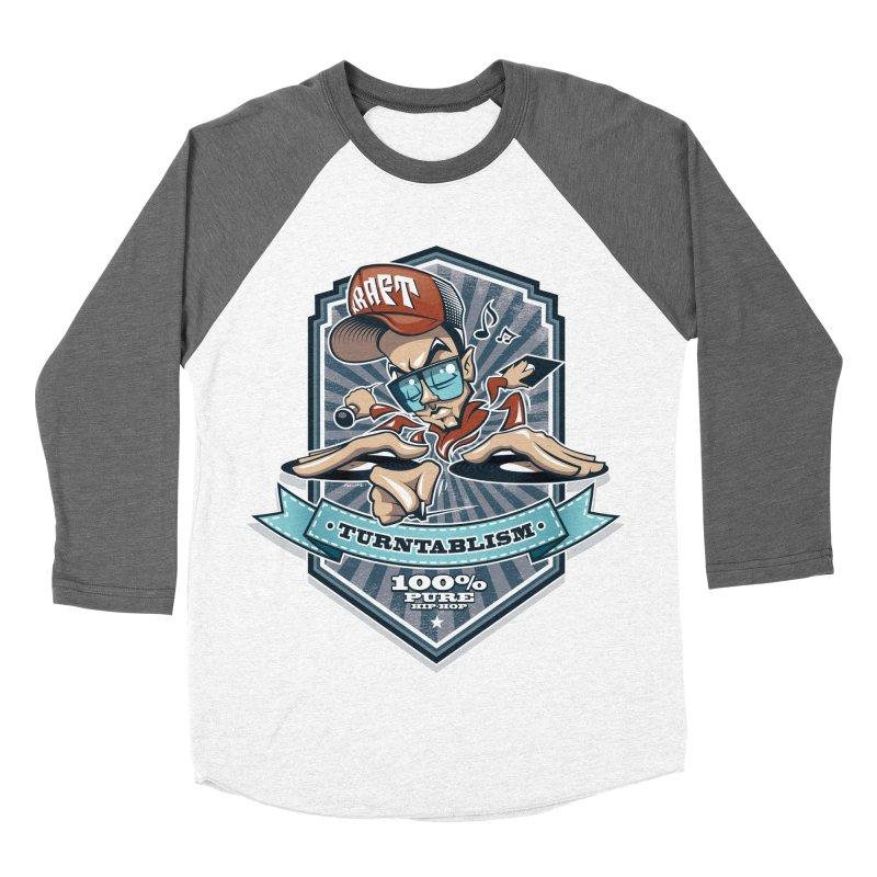 Turntablism Women's Baseball Triblend Longsleeve T-Shirt by zoelone's Artist Shop