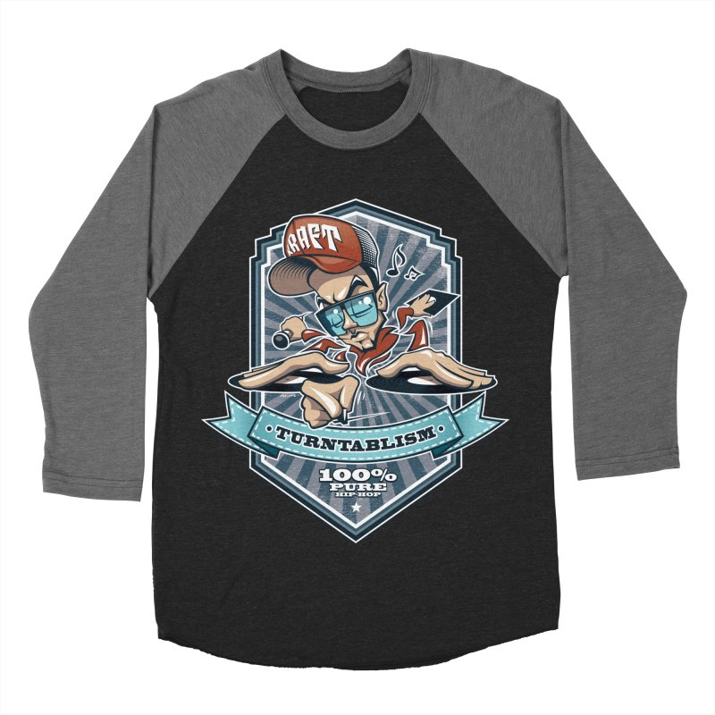 Turntablism Men's Baseball Triblend Longsleeve T-Shirt by zoelone's Artist Shop