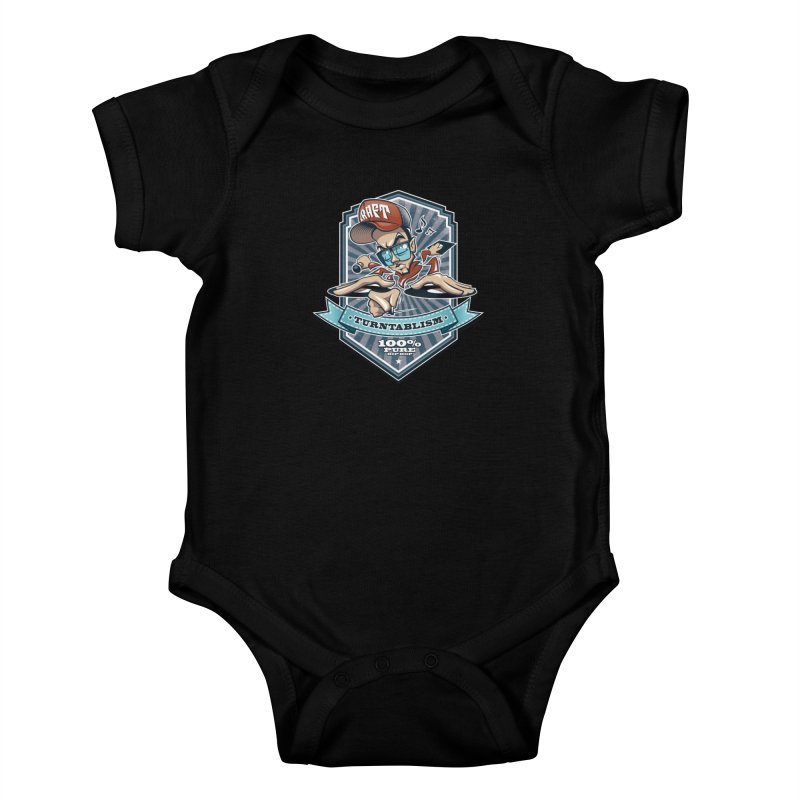 Turntablism Kids Baby Bodysuit by zoelone's Artist Shop