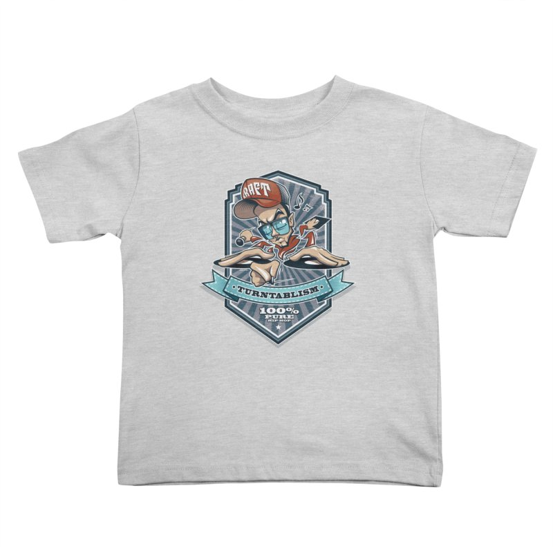 Turntablism Kids Toddler T-Shirt by zoelone's Artist Shop