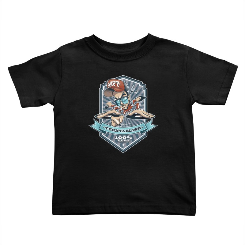 Turntablism Kids Toddler T-Shirt by zoelone's Artist Shop