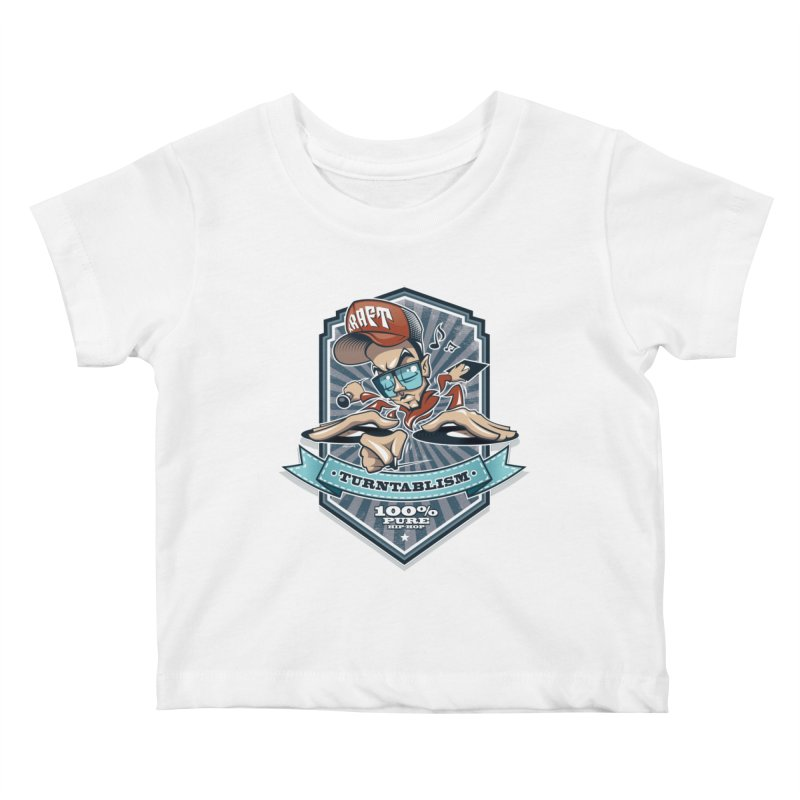 Turntablism Kids Baby T-Shirt by zoelone's Artist Shop