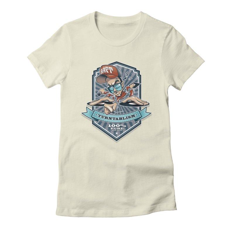 Turntablism Women's T-Shirt by zoelone's Artist Shop