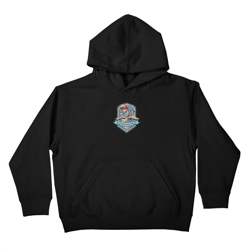 Turntablism Kids Pullover Hoody by zoelone's Artist Shop
