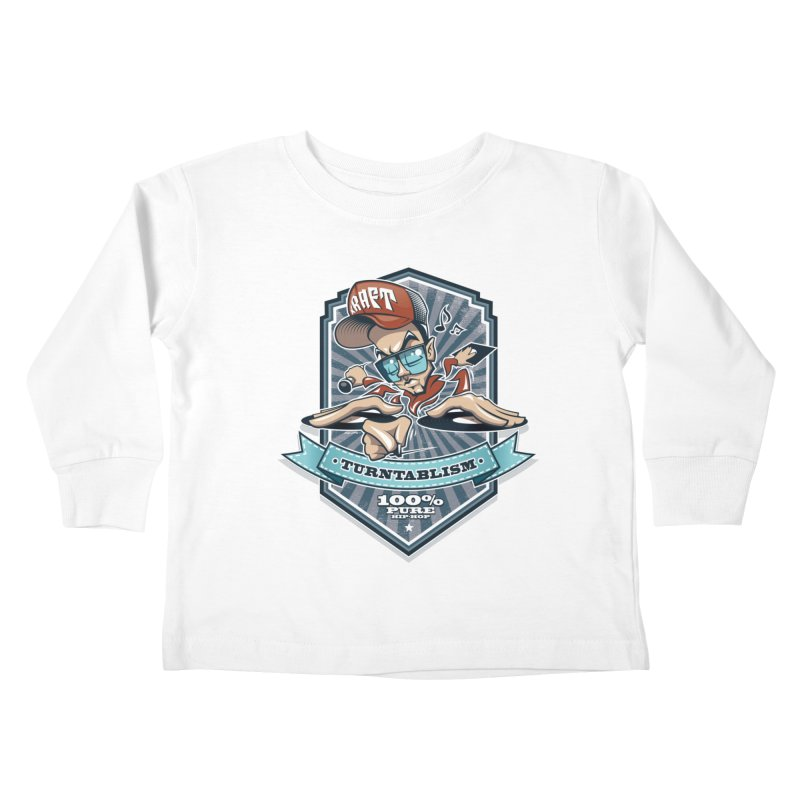 Turntablism Kids Toddler Longsleeve T-Shirt by zoelone's Artist Shop