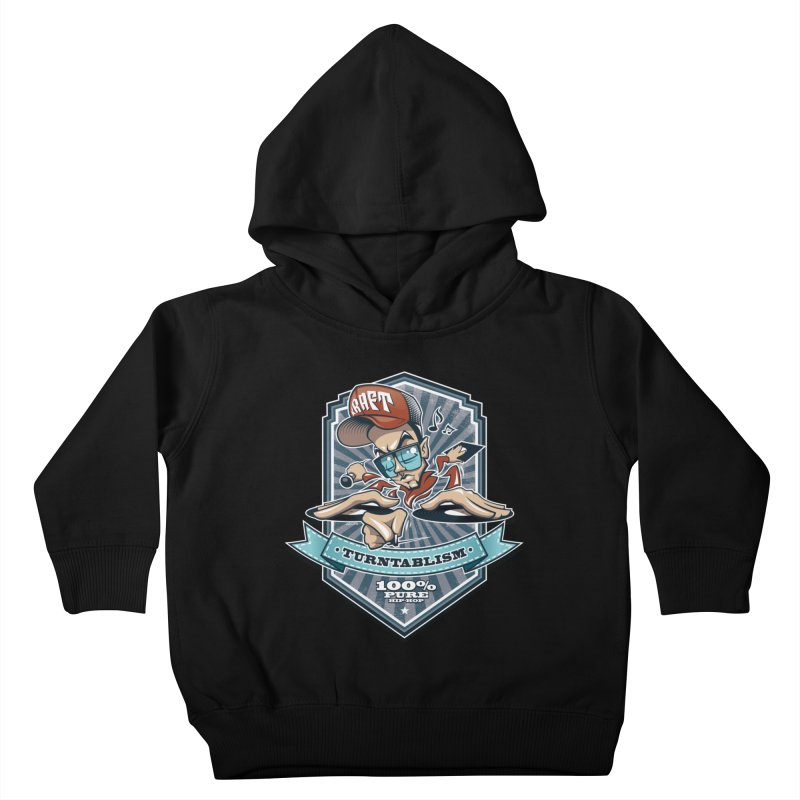 Turntablism Kids Toddler Pullover Hoody by zoelone's Artist Shop