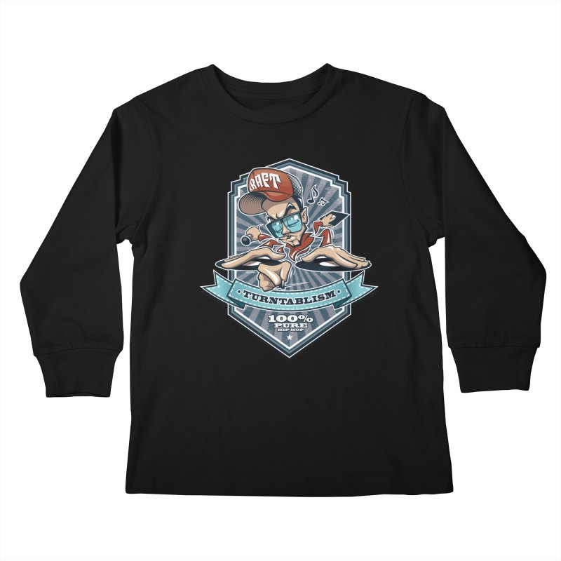 Turntablism Kids Longsleeve T-Shirt by zoelone's Artist Shop