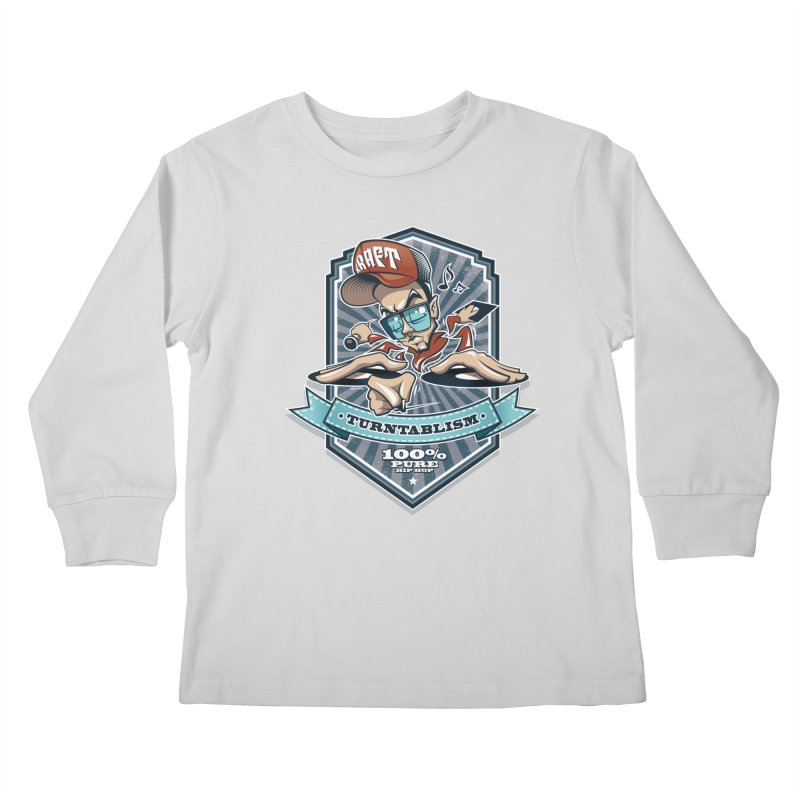 Turntablism Kids Longsleeve T-Shirt by zoelone's Artist Shop