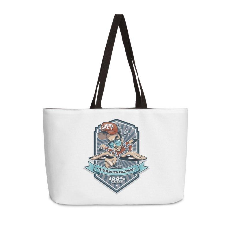 Turntablism Accessories Weekender Bag Bag by zoelone's Artist Shop