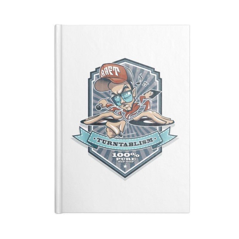 Turntablism Accessories Notebook by zoelone's Artist Shop