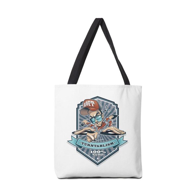 Turntablism Accessories Bag by zoelone's Artist Shop