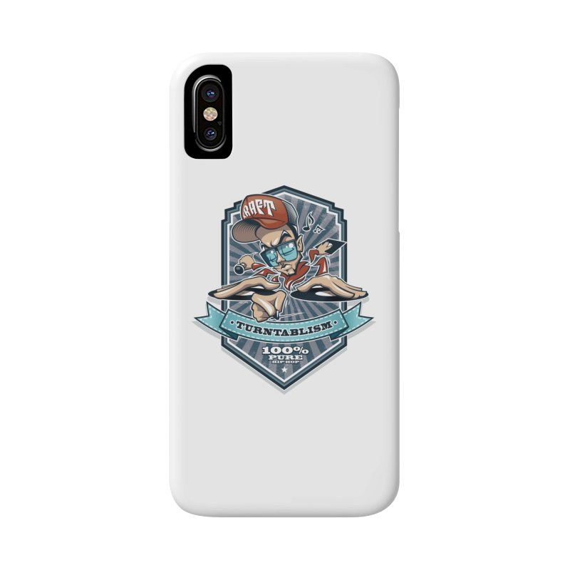 Turntablism Accessories Phone Case by zoelone's Artist Shop