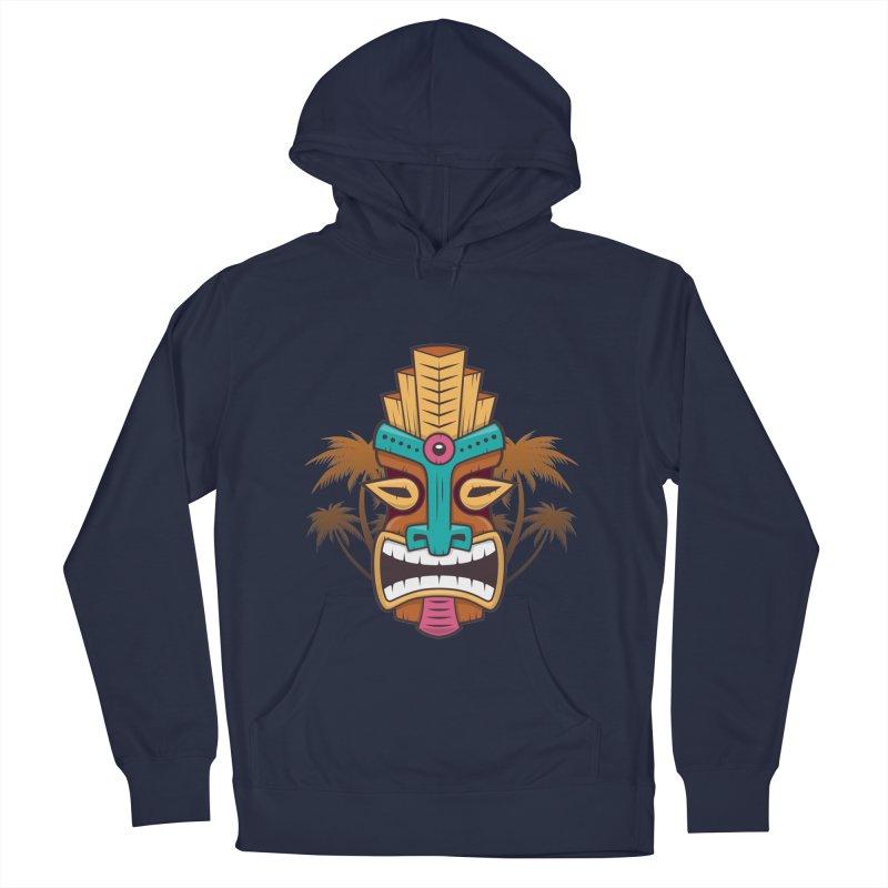 Tiki Mask Women's Pullover Hoody by zoljo's Artist Shop