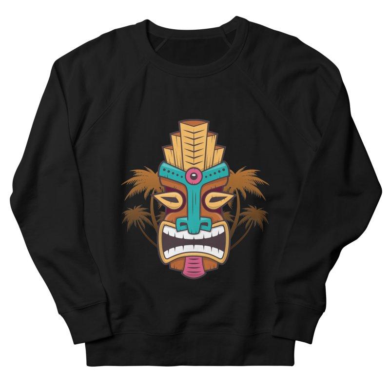 Tiki Mask Women's Sweatshirt by zoljo's Artist Shop