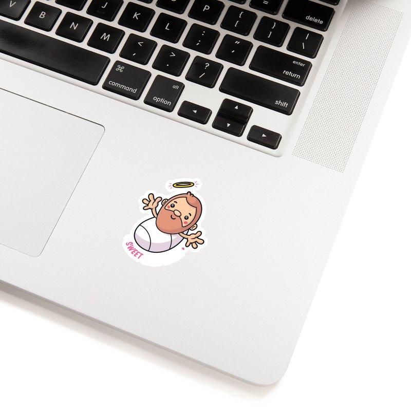Sweet Baby Jesus Accessories Sticker by zoljo's Artist Shop