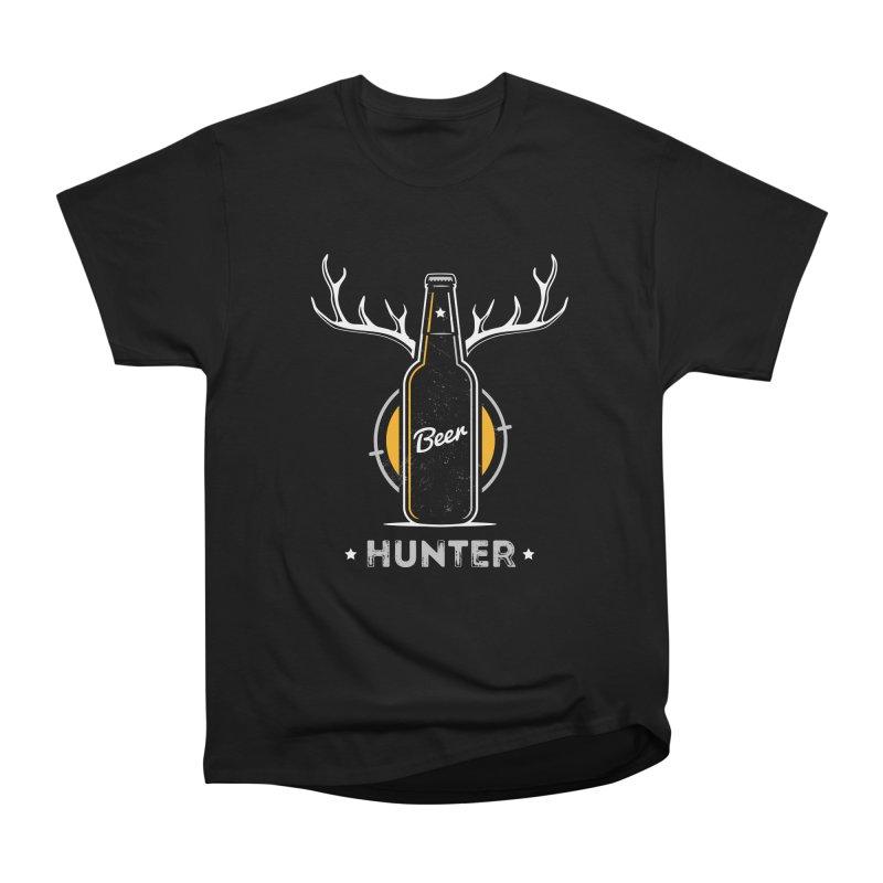 Beer Hunter Men's Heavyweight T-Shirt by zoljo's Artist Shop