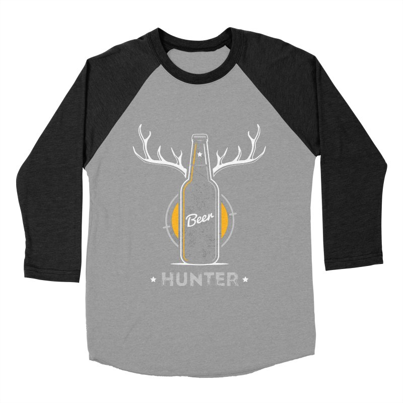 Beer Hunter Women's Baseball Triblend Longsleeve T-Shirt by zoljo's Artist Shop