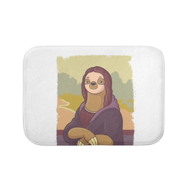 Lazy Lisa Home Bath Mat by zoljo's Artist Shop