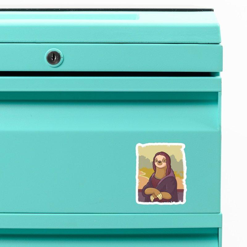 Lazy Lisa Accessories Magnet by zoljo's Artist Shop