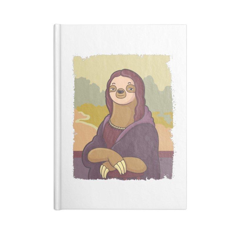 Lazy Lisa Accessories Lined Journal Notebook by zoljo's Artist Shop