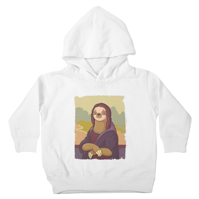 Lazy Lisa Kids Toddler Pullover Hoody by zoljo's Artist Shop