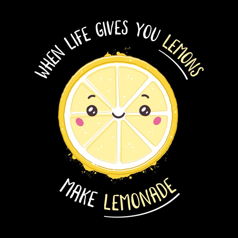 When Life Gives Lemons Make Lemonade Kids T-Shirt by zoljo's Artist Shop
