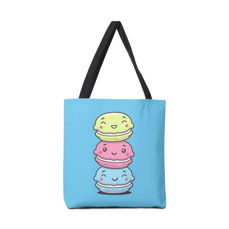 Funny Macarons Accessories Tote Bag Bag by zoljo's Artist Shop