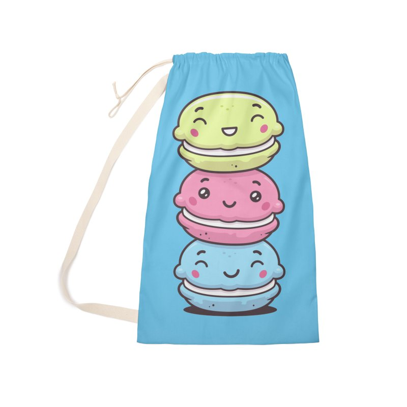 Funny Macarons Accessories Laundry Bag Bag by zoljo's Artist Shop