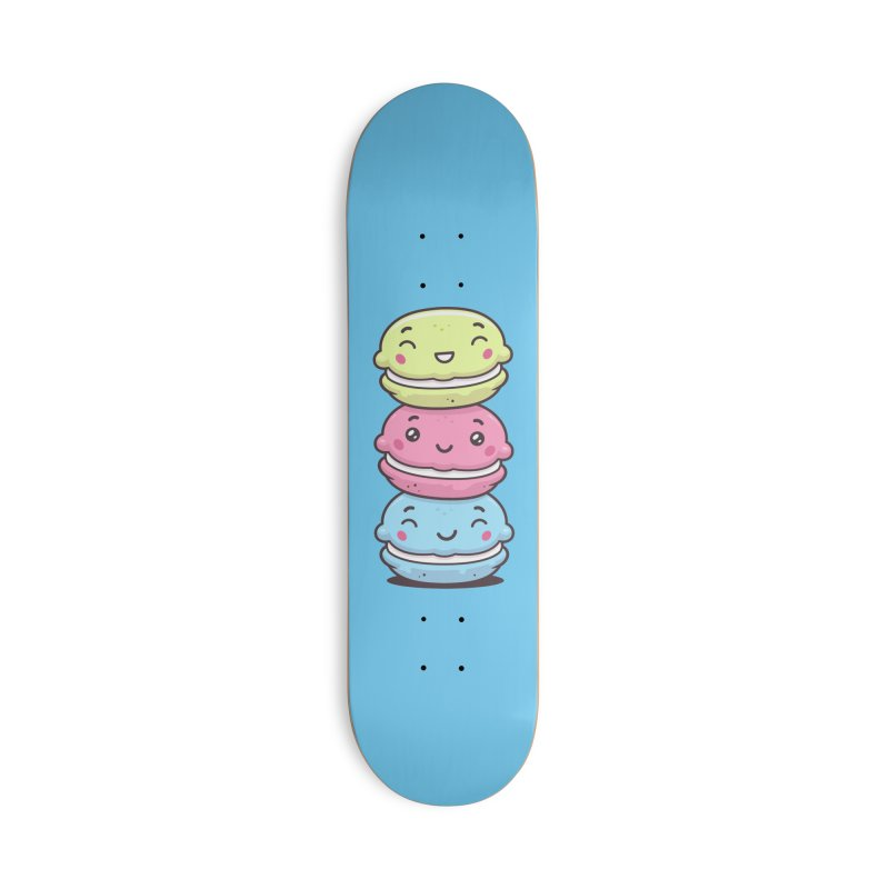 Funny Macarons Accessories Deck Only Skateboard by zoljo's Artist Shop