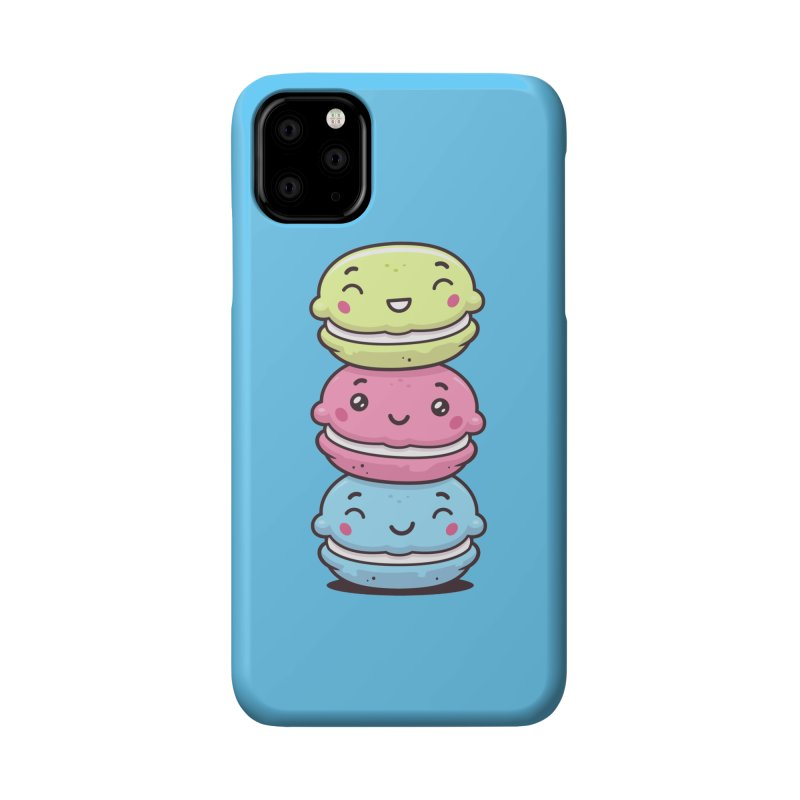 Funny Macarons Accessories Phone Case by zoljo's Artist Shop