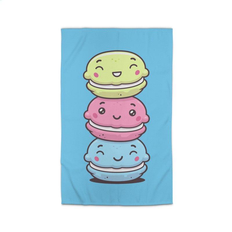 Funny Macarons Home Rug by zoljo's Artist Shop