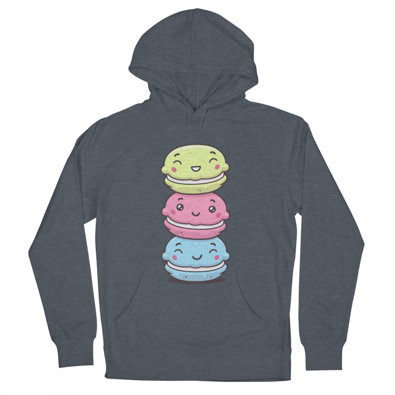 Funny Macarons Women's French Terry Pullover Hoody by zoljo's Artist Shop