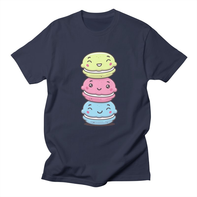 Funny Macarons Men's Regular T-Shirt by zoljo's Artist Shop